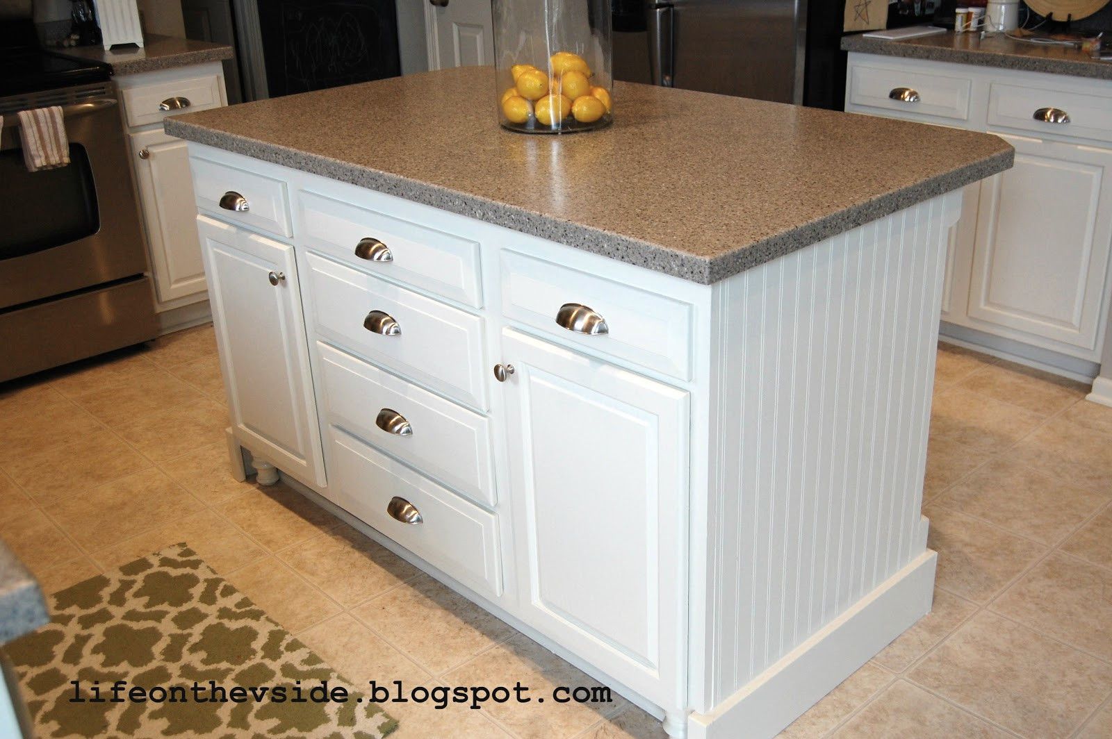 Best ideas about DIY Kitchen Island From Cabinets . Save or Pin the V Side DIY Kitchen Island Update Now.