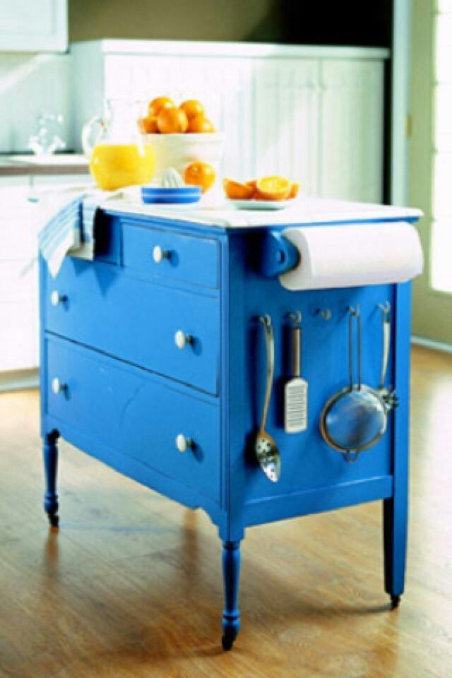 Best ideas about DIY Kitchen Island From Dresser . Save or Pin Repurposed dresser w kitchen island DIY Now.