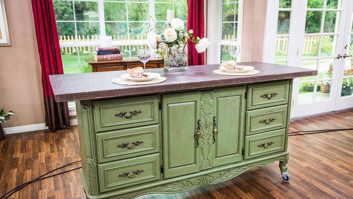 Best ideas about DIY Kitchen Island From Dresser . Save or Pin How To Ken's DIY Kitchen Island Now.
