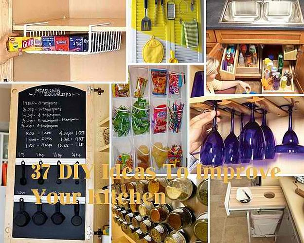 Best ideas about DIY Kitchen Organizing Ideas . Save or Pin 15 DIY Kitchen Ideas For Organized Culinary Creations Now.