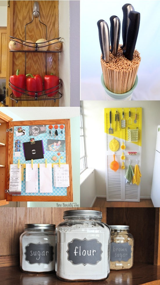 Best ideas about DIY Kitchen Organizing Ideas . Save or Pin DIY Kitchen Organization Ideas Now.