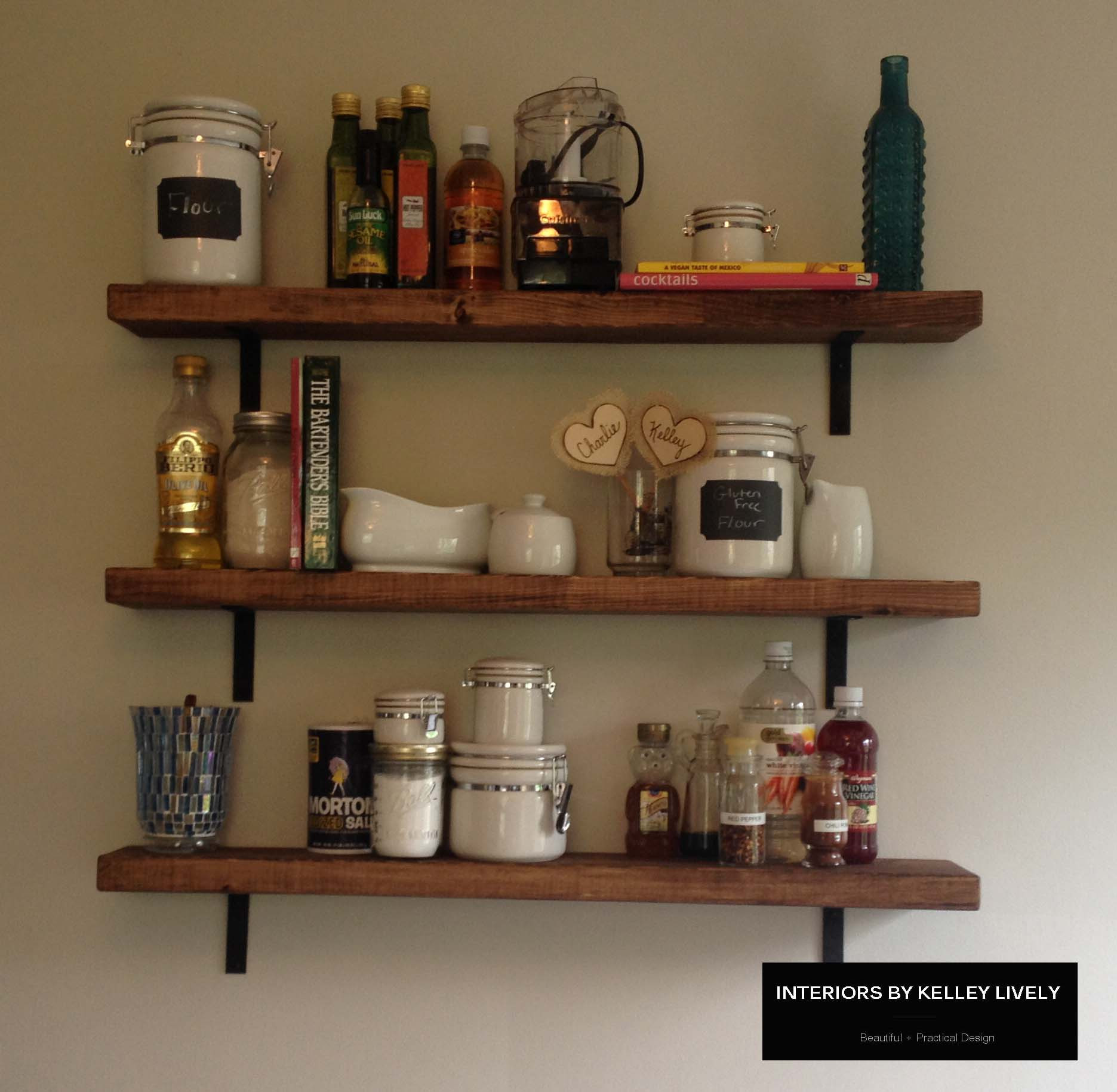 Best ideas about DIY Kitchen Shelves . Save or Pin IMG 1186 Now.