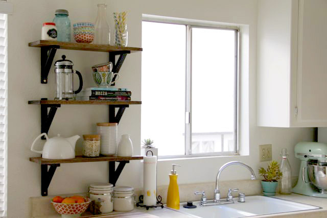 Best ideas about DIY Kitchen Shelves . Save or Pin 7 Smart Ways To Save A Ton Space In Your Small Kitchen Now.