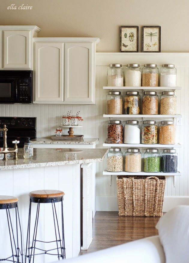Best ideas about DIY Kitchen Shelves . Save or Pin DIY Country Store Kitchen Shelves Now.