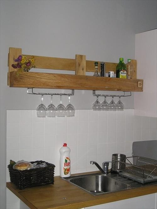 Best ideas about DIY Kitchen Shelves . Save or Pin 15 DIY Wooden Pallet Shelves Now.