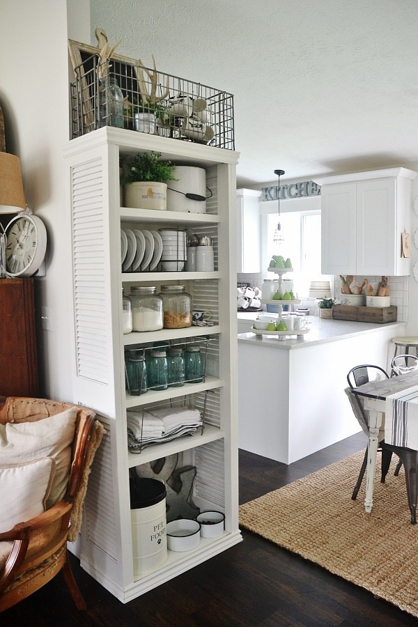 Best ideas about DIY Kitchen Shelves . Save or Pin DIY Kitchen Shelves Now.