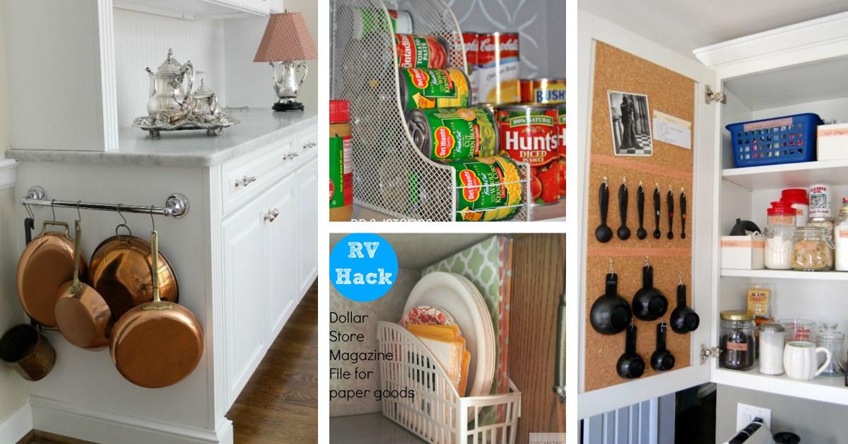 Best ideas about DIY Kitchen Storage Hacks . Save or Pin 16 Genius Kitchen Organization Hacks Style Motivation Now.