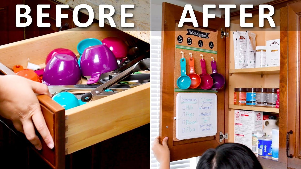 Best ideas about DIY Kitchen Storage Hacks . Save or Pin ORGANIZATION HACKS Unexpected Kitchen Hacks You Need To Now.