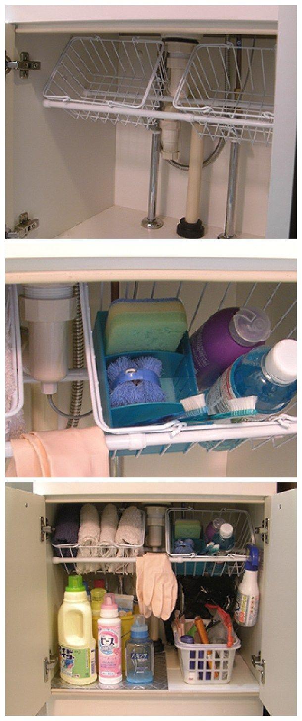 Best ideas about DIY Kitchen Storage Hacks . Save or Pin 20 Clever Kitchen Organization Ideas Now.