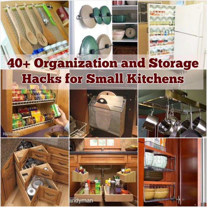 Best ideas about DIY Kitchen Storage Hacks . Save or Pin 40 Organization and Storage Hacks for Small Kitchens i Now.