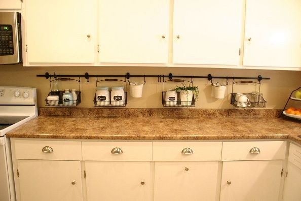 Best ideas about DIY Kitchen Storage Hacks . Save or Pin 10 Awesome Diy Kitchen Hacks For Maximum Storage 1 Diy Now.