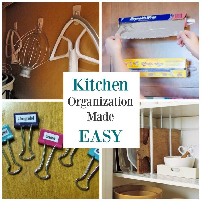 Best ideas about DIY Kitchen Storage Hacks . Save or Pin Tips Smart Kitchen Organization Hacks Ideas — Aasp us Now.