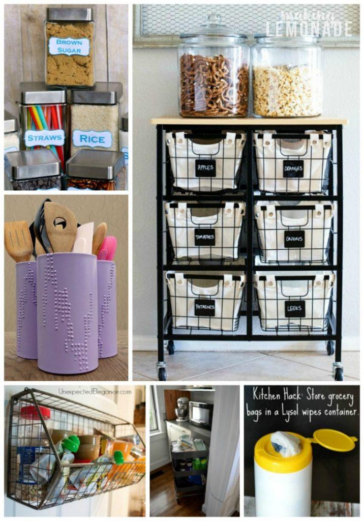 Best ideas about DIY Kitchen Storage Hacks . Save or Pin 30 Genius Kitchen Storage Hacks Ideas Now.