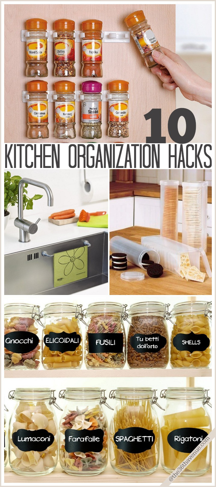 Best ideas about DIY Kitchen Storage Hacks . Save or Pin The 36th AVENUE Best DIY Projects and Recipe Party Now.