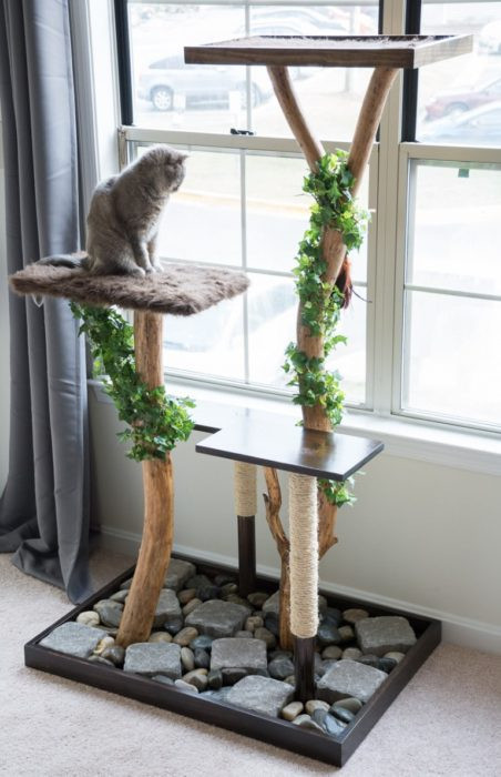 Best ideas about DIY Kitty Condo . Save or Pin 40 Cool DIY Cat Tree Kitty Condos or Cat Climbers Now.