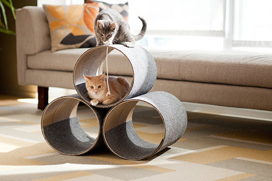 Best ideas about DIY Kitty Condo . Save or Pin DIY Kitty Condo From Lowe's Creative Ideas • hauspanther Now.