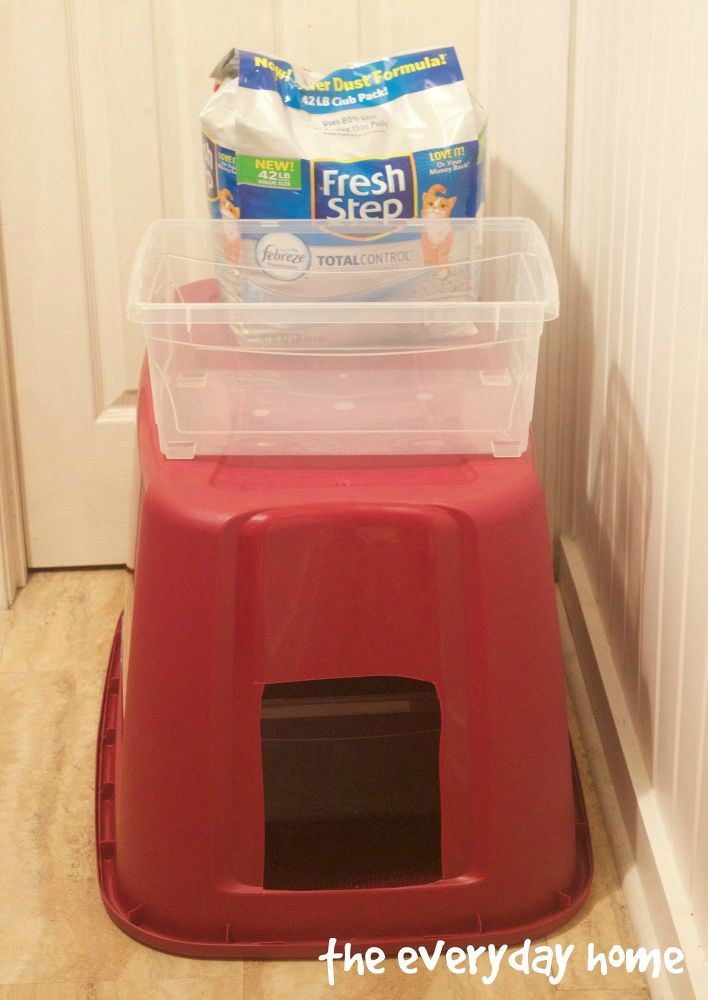 Best ideas about DIY Kitty Litter . Save or Pin NO MESS DIY Kitty Litter Box Now.