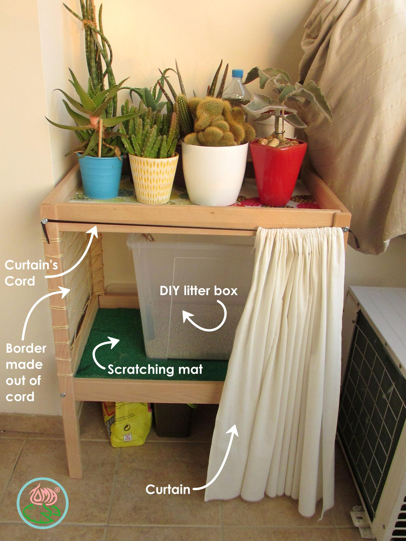 Best ideas about DIY Kitty Litter . Save or Pin DIY Cat Litter Box & Storage Furniture Now.