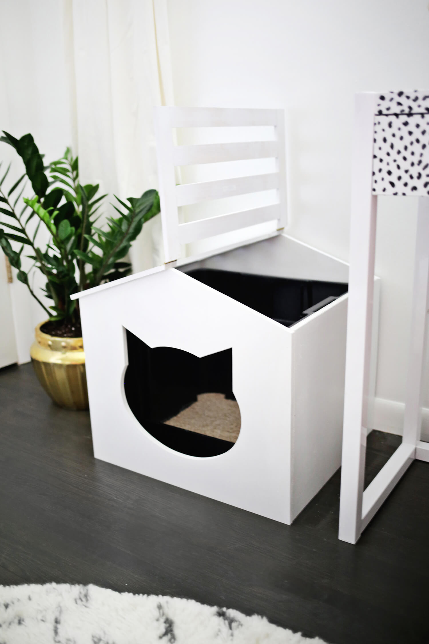 Best ideas about DIY Kitty Litter . Save or Pin Litter Box Cover DIY – A Beautiful Mess Now.