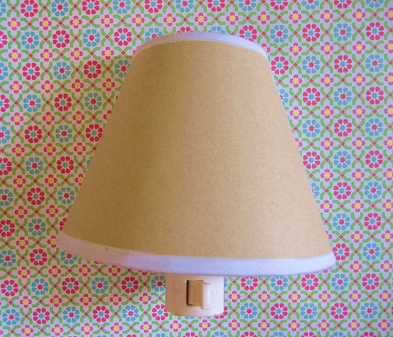 Best ideas about DIY Lamp Shade Kit . Save or Pin DIY Night Light Kit Nightlight Light Shade Lamp Shade Home Now.