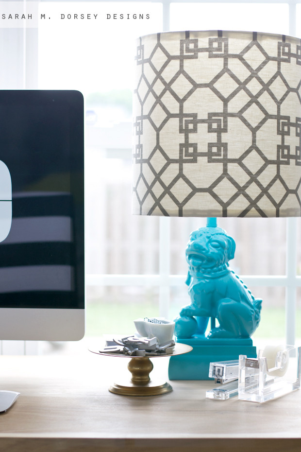 Best ideas about DIY Lamp Shade Kit . Save or Pin sarah m dorsey designs Foo Dog Lamp DIY Lampshade Kit Now.