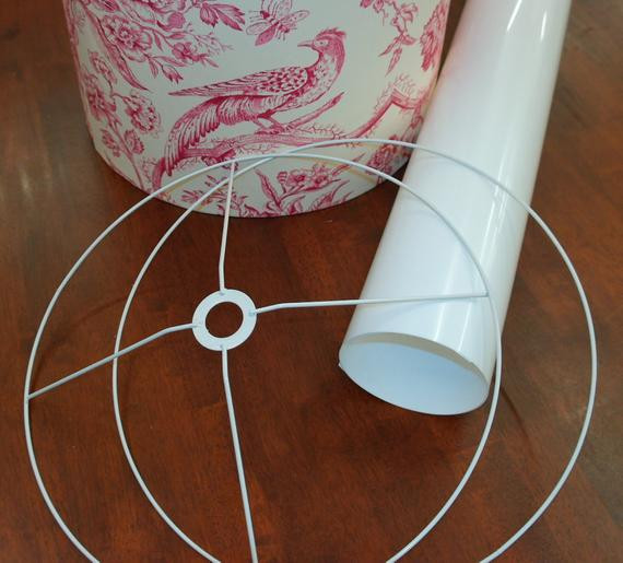 Best ideas about DIY Lamp Shade Kit . Save or Pin 9 DIY Lamp Shade Making Kit 9 inch 23cm by MadeMarionCraft Now.