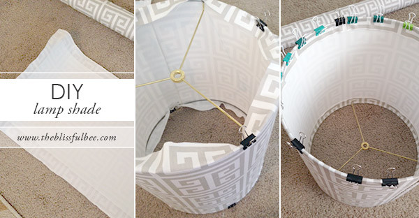 Best ideas about DIY Lamp Shade Kit . Save or Pin DIY Lamp Shade Kit – THE BLISSFUL BEE Now.