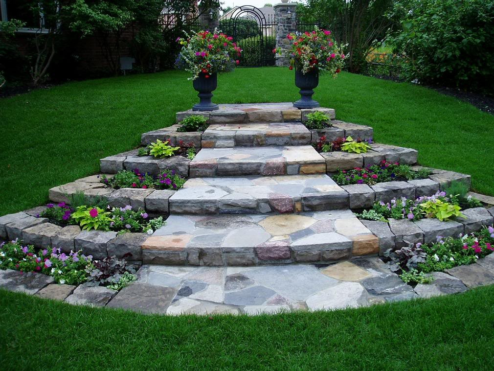 Best ideas about Diy Landscape Design . Save or Pin front yard ideas House landscaping design pictures Now.