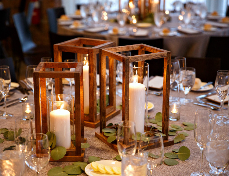 Best ideas about DIY Lantern Wedding Centerpieces . Save or Pin Simple DIY Wooden Lanterns The Home Depot Blog Now.