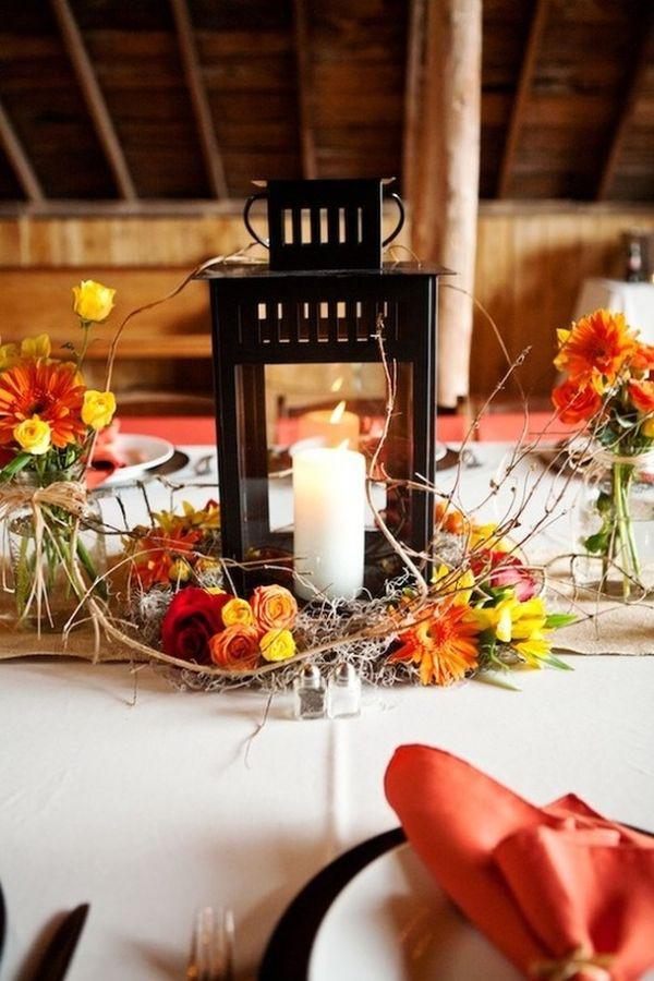 Best ideas about DIY Lantern Wedding Centerpieces . Save or Pin DIY Wedding Reception Centerpiece Ideas Now.