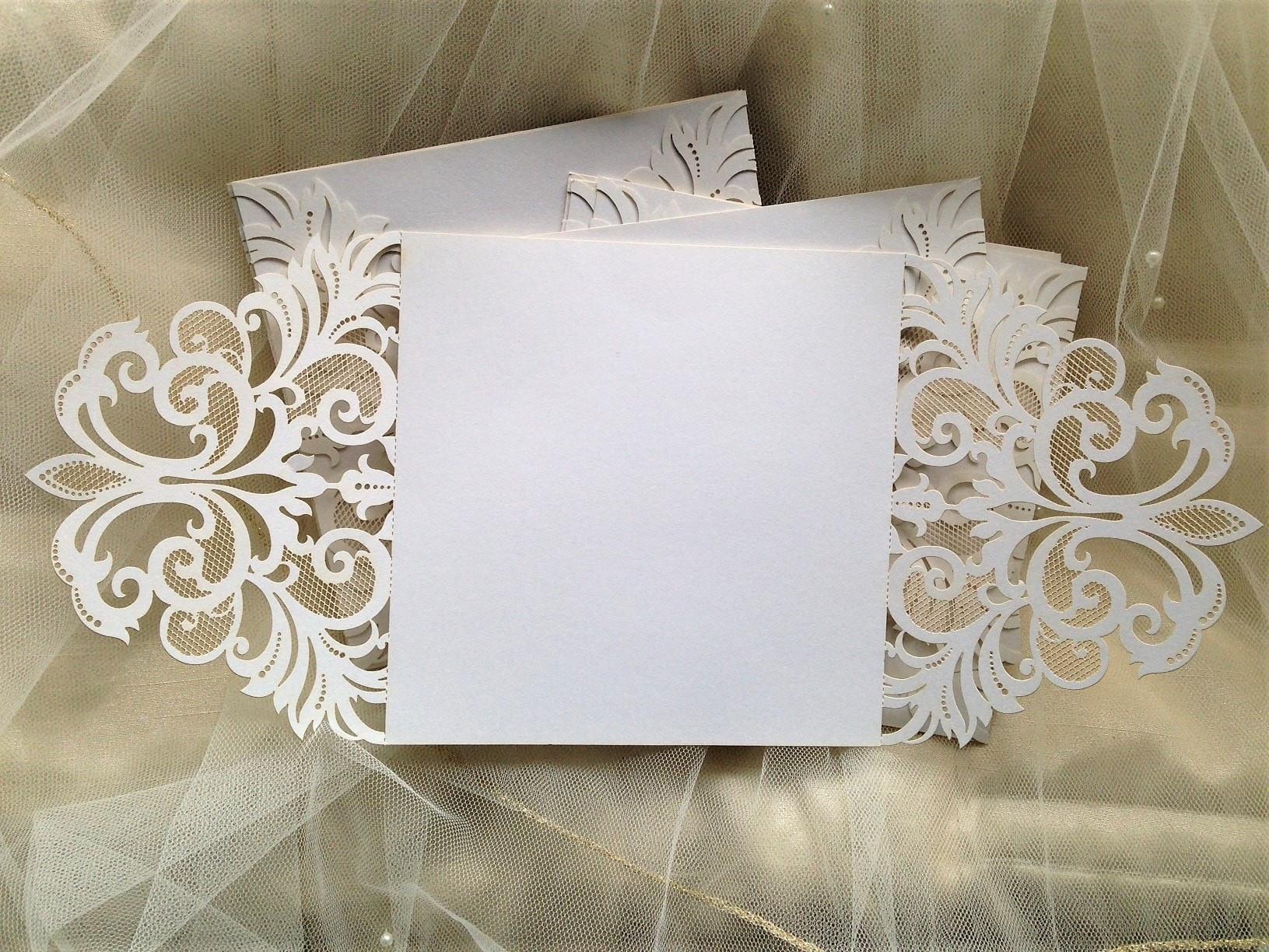 Best ideas about DIY Laser Cut Wedding Invitations . Save or Pin DIY Laser Cut Wedding Invitations £1 each DIY Wedding Invites Now.