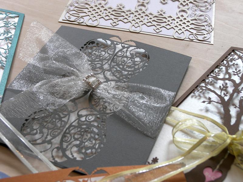 Best ideas about DIY Laser Cut Wedding Invitations . Save or Pin Laser Cut Wedding Invitations Invitation with High Tech Now.