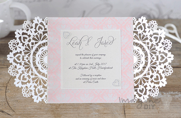 Best ideas about DIY Laser Cut Wedding Invitations . Save or Pin How to Make Arabesque Laser Cut Invitation Imagine DIY Now.