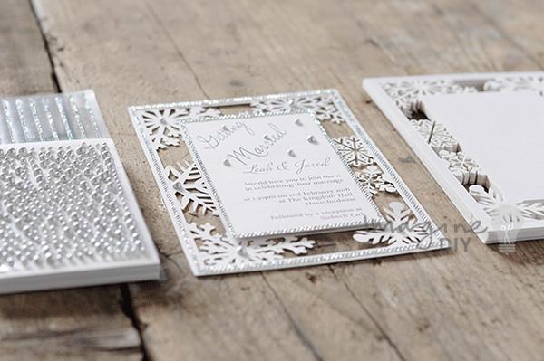 Best ideas about DIY Laser Cut Wedding Invitations . Save or Pin snowflake laser cut wedding invitation diy Imagine DIY Now.