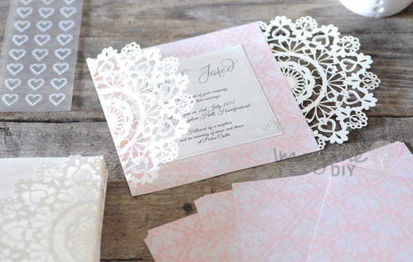Best ideas about DIY Laser Cut Wedding Invitations . Save or Pin How to Make Arabesque Laser Cut Invitation – Imagine DIY Now.