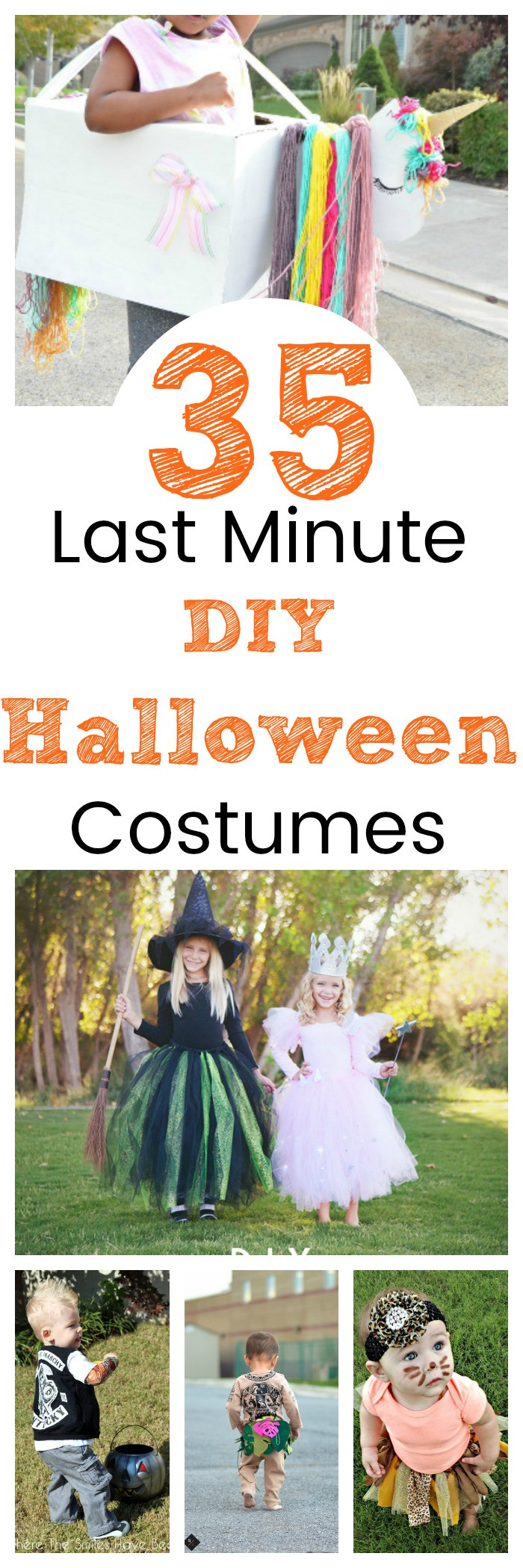 Best ideas about DIY Last Minute Costumes . Save or Pin 35 Last Minute DIY Halloween Costumes Now.