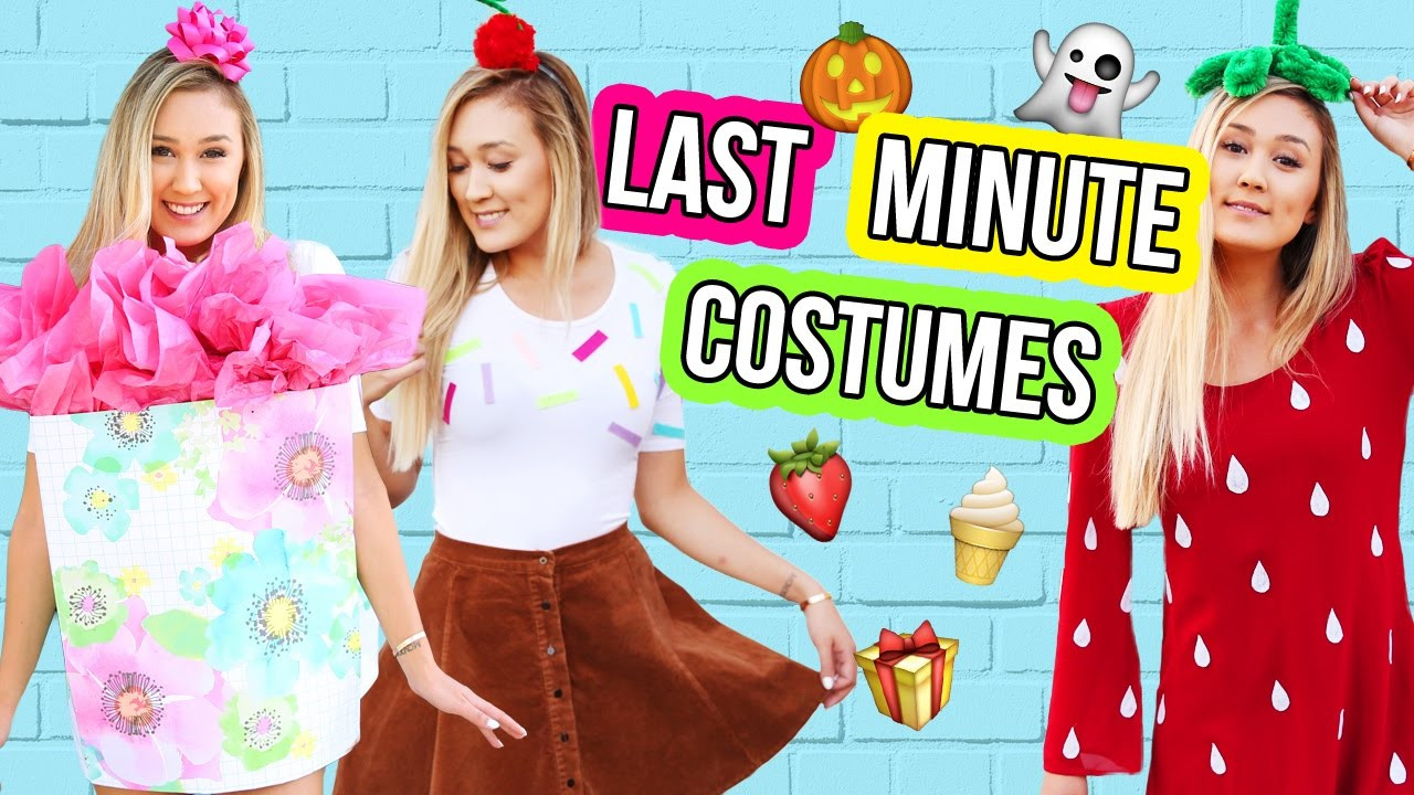 Best ideas about DIY Last Minute Costumes . Save or Pin DIY LAST MINUTE HALLOWEEN COSTUMES Now.