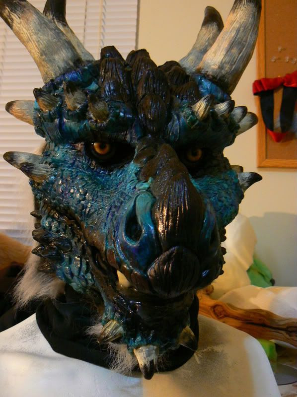 Best ideas about DIY Latex Mask . Save or Pin latex dragon mask DIY fursuitauctions Now.