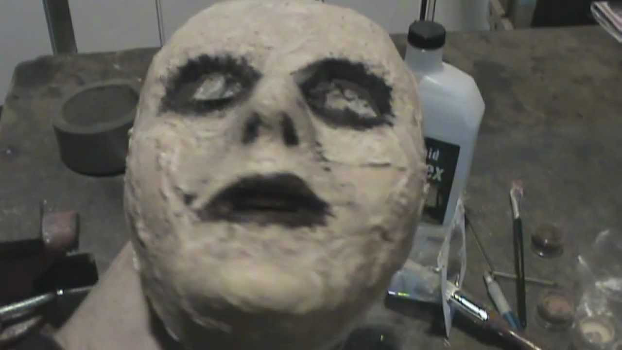 Best ideas about DIY Latex Mask . Save or Pin cheap DIY zombie mask tutorial Now.