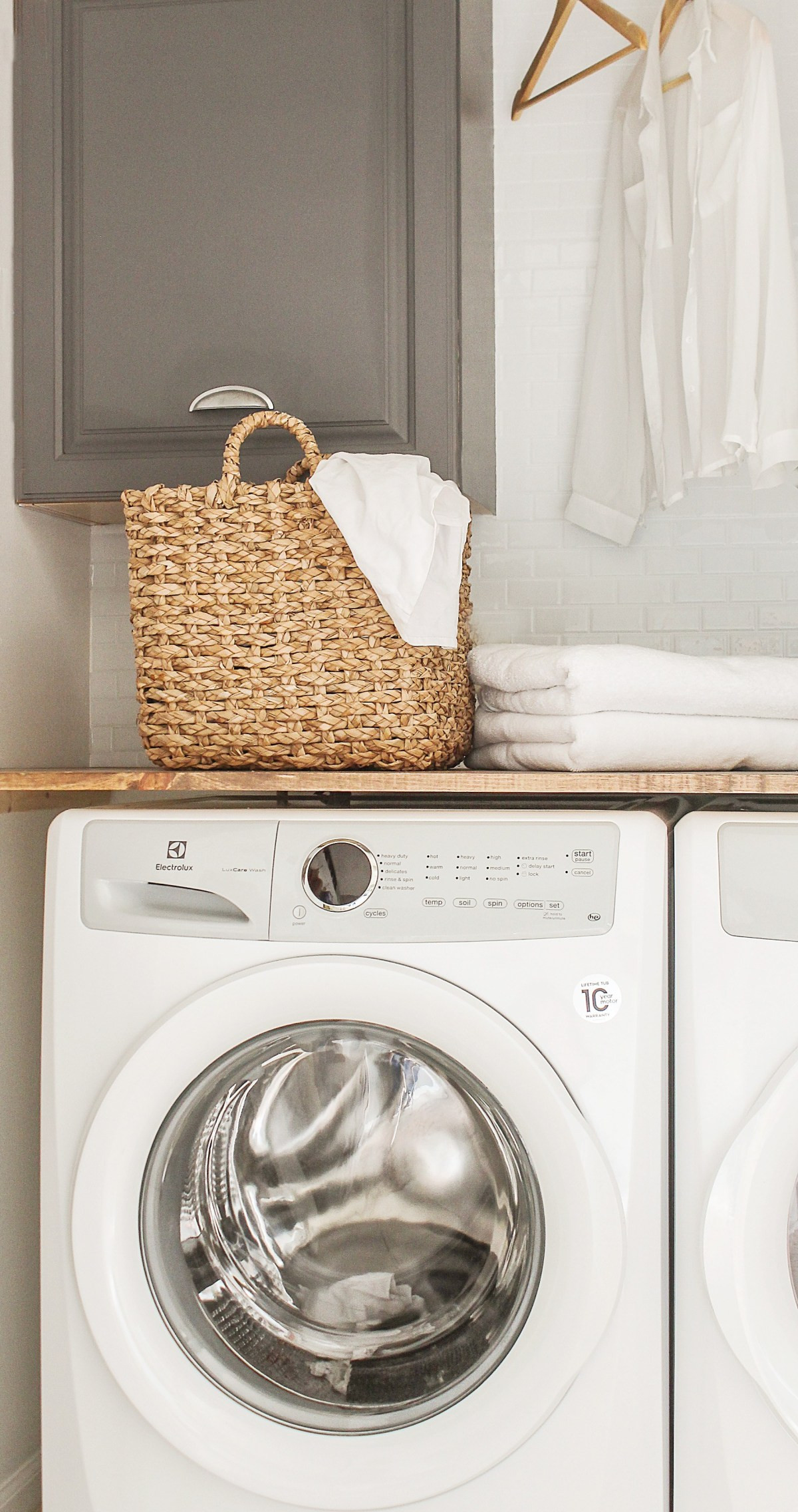 Best ideas about Diy Laundry Room . Save or Pin DIY Laundry Room Closet Makeover on the Cheap Modern Now.