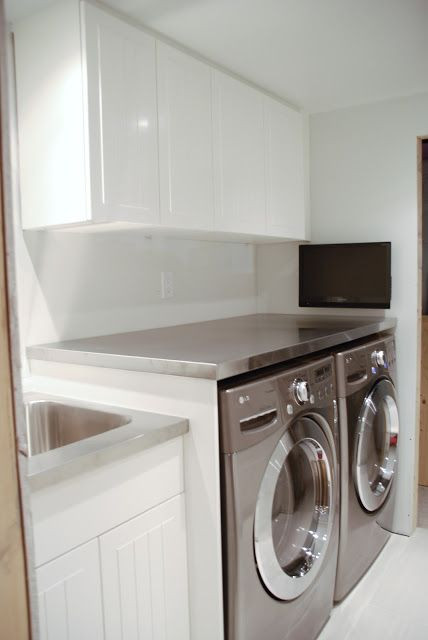 Best ideas about DIY Laundry Room Countertop . Save or Pin 1000 ideas about Laundry Room Countertop on Pinterest Now.