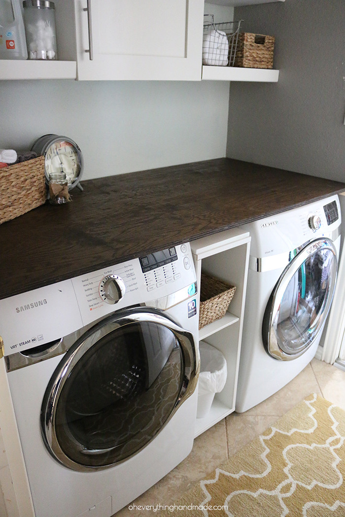 Best ideas about Diy Laundry Room . Save or Pin DIY Laundry Room Transformation Now.