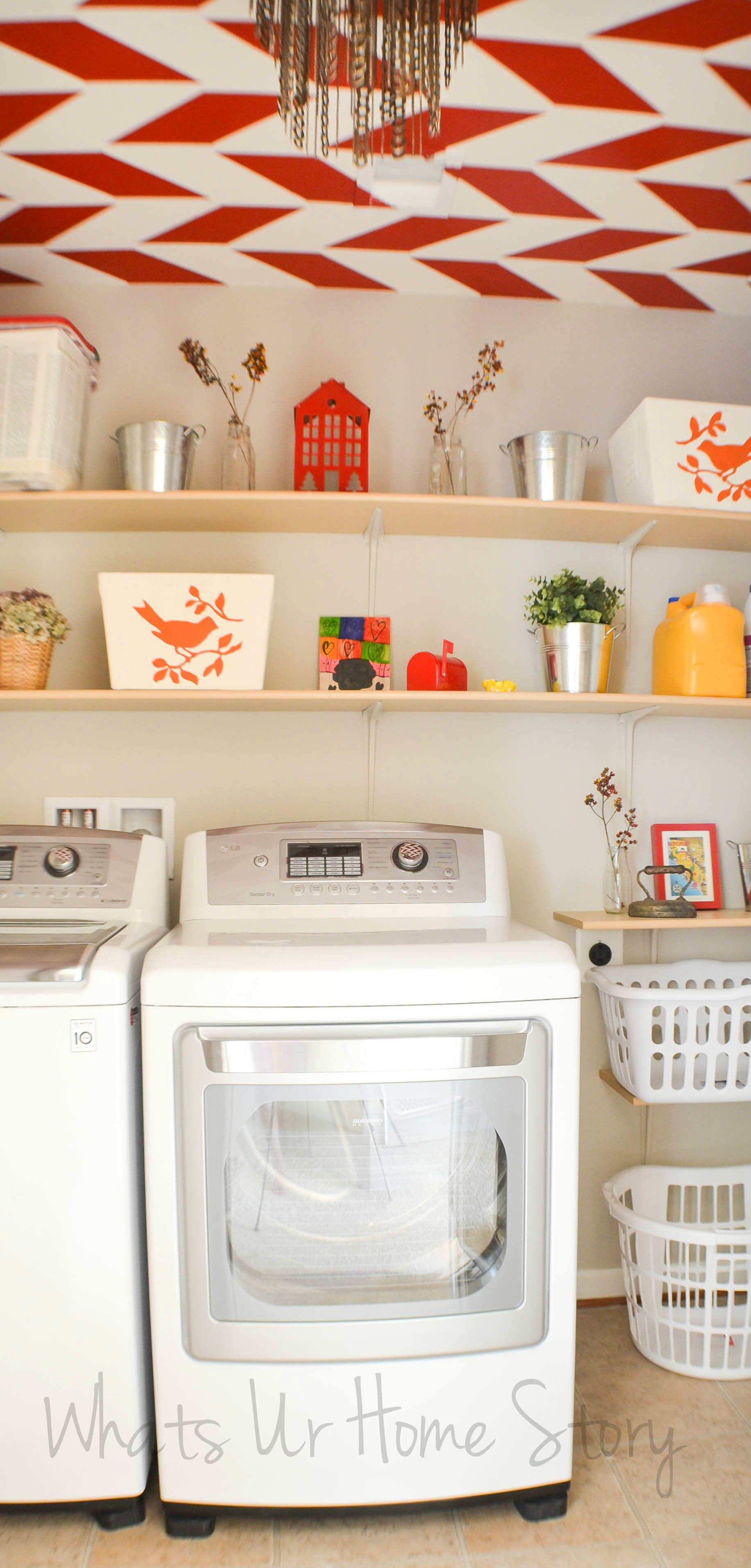 Best ideas about Diy Laundry Room . Save or Pin Simple DIY Wall Shelves for the Laundry Room Now.