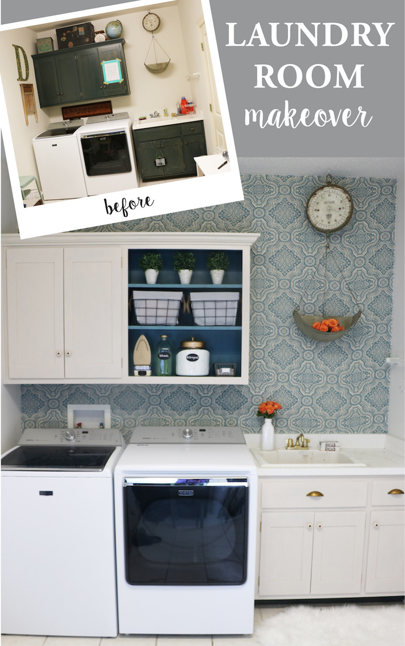 Best ideas about Diy Laundry Room . Save or Pin DIY Laundry Room Makeover Sincerely Sara D Now.
