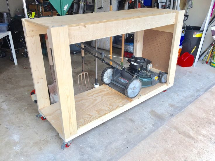 Best ideas about DIY Lawn Mower Storage . Save or Pin Lawnmower shed back yard storage ideas in 2019 Now.