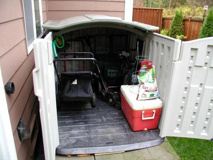 Best ideas about DIY Lawn Mower Storage . Save or Pin lawn mower shed on Pinterest Now.