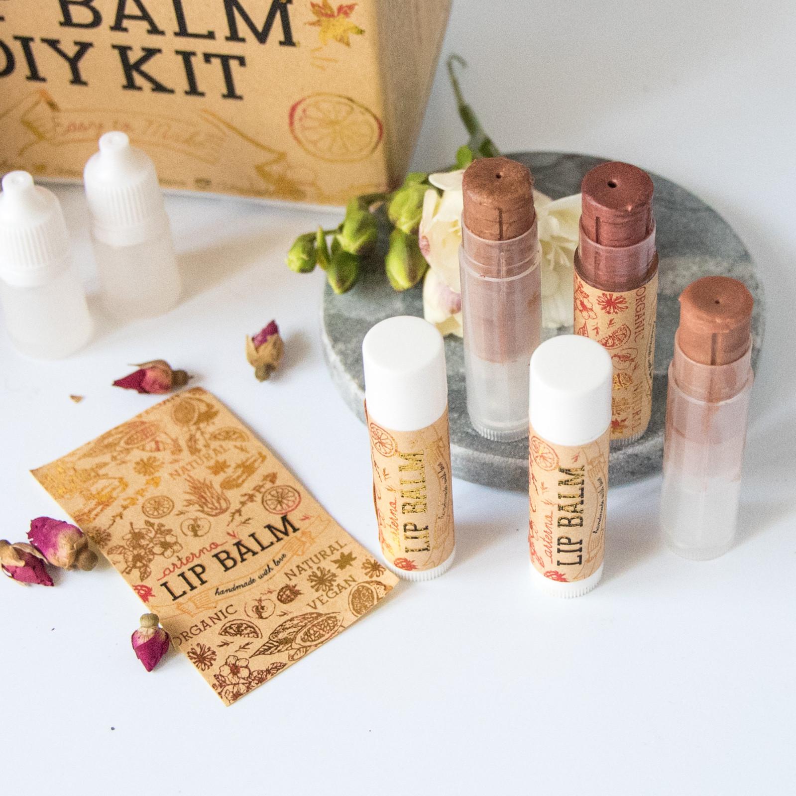 Best ideas about DIY Lip Balm Kit . Save or Pin DIY Lip Balm Organic Kit – ARTERNO Now.