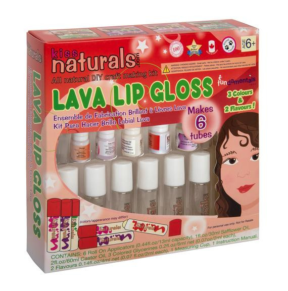Best ideas about DIY Lip Balm Kit . Save or Pin Items similar to Kiss Naturals DIY Lava Lip Gloss Kit on Etsy Now.