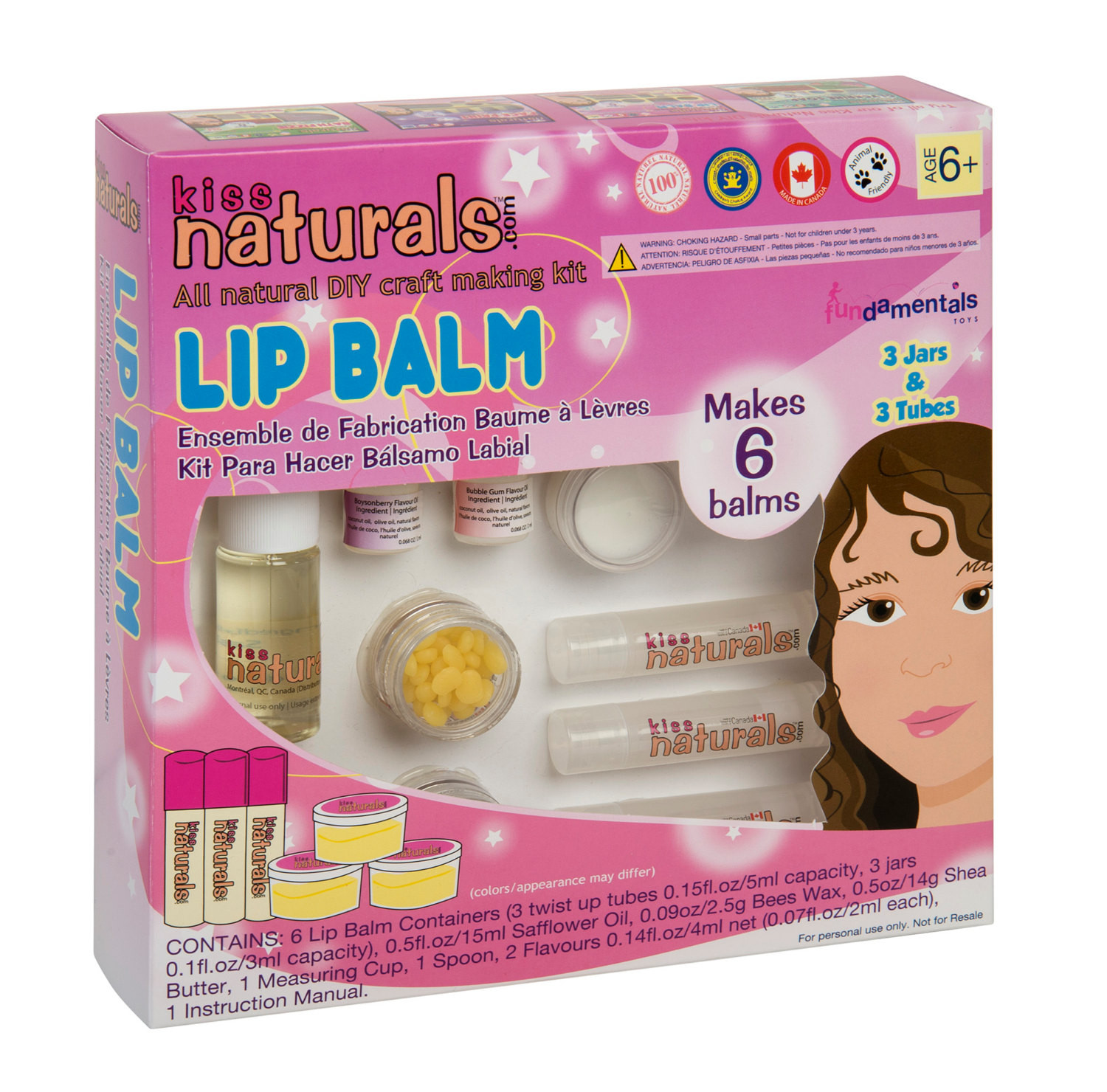 Best ideas about DIY Lip Balm Kit . Save or Pin Kiss Naturals DIY Lip Balm Kit by kissnaturals on Etsy Now.