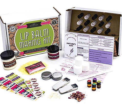 Best ideas about DIY Lip Balm Kit . Save or Pin DIY Lip Balm Kit 73 Piece Set Homemade Natural and Now.